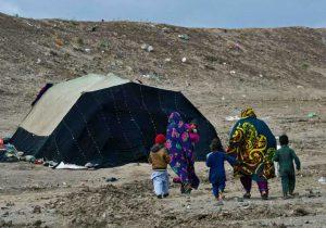 تصویری از زندگی مهاجران بلوچ که به امید زندگی بهتر کوچ کردهاند