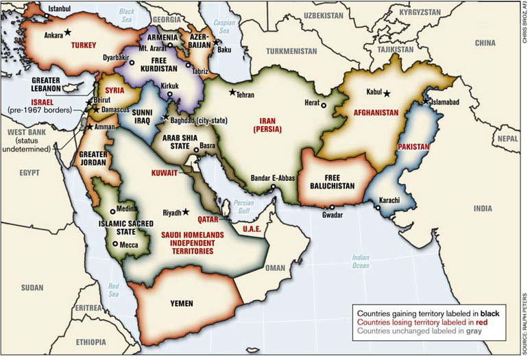 One way to counter irans aggression change the map of the middle by gumiabroncs Images