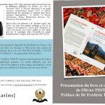 Présentation et Dédicace du livre (LE PEUPLE KURDE, CLÉ DE VOÛTE DU MOYEN-ORIENT). Olivier Piot