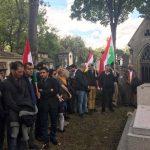 Le 17 septembre 2017, le Bureau du PDKI a organisé une cérémonie d'hommage, au cimetière Pierre Lachaise.