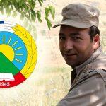 En peshmerge fra PDKI partiet mistet livet sitt i kampen mot IS i byen Mosul