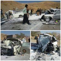 سومین تصادف مرگبار در سقز طی دو روز و کشته و زخمی شدن 6 تن