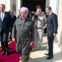 وزیر دفاع آمریکا برای بررسی عملیات موصل وارد اقلیم کوردستان شد