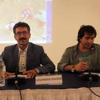 لقمان رحیمی، عکاس بوکانی در فستیوال بین المللی ترکیه شرکت نمود