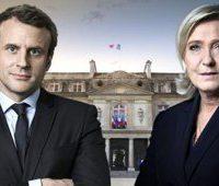در انتخابات فرانسه: ماکرون و لوپن به دور دوم رفتند