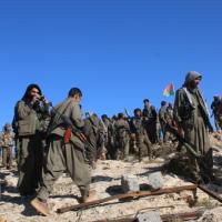 درگیری خونین میان نیروهای پ.ک.ک و حشد شعبی در شنگال