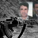 Iranian military forces shot gunfire, and killed four people and wounded another one in Salmas
