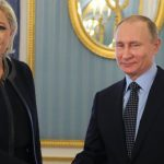 France's Le Pen meets Putin in Moscow