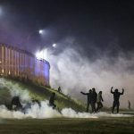 درگیری پناهجویان کاله با ۱۰۰۰ پلیس فرانسه