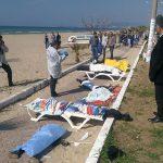 جان باختن ١١ پناهجو در اثر واژگونی قایق بادی  در آب های اژه