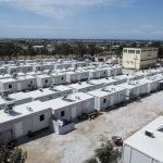تجمع اعتراضی پناهجویان ساکن در کمپ دیاواتای یونان نسبت به شرایط وخیم این کمپ پناهندگی